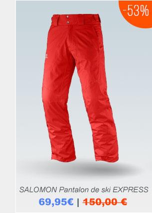 Pantaloni da sci  SALOMON >>