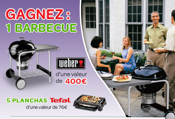 Gagnez 1 barbecue