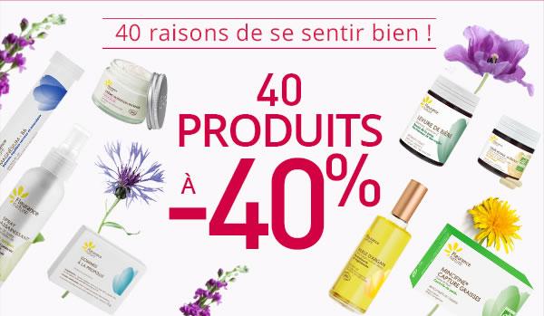40 produits