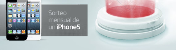 Sorteo mensual de un Iphone5